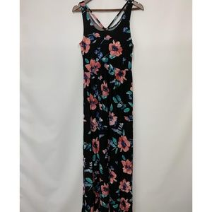 NWT So Floral T Scoop strappy junior Maxi Dress